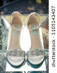 Wedding Day Shoes Bride   Groom