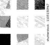black and white grunge stripe... | Shutterstock . vector #1105150967