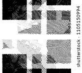 black and white grunge stripe... | Shutterstock . vector #1105150994