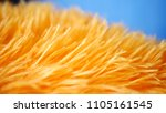 yellow micro fiber cloth in... | Shutterstock . vector #1105161545