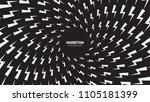 vector white thunder and bolt... | Shutterstock .eps vector #1105181399