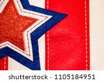 stitched fabric background of... | Shutterstock . vector #1105184951