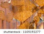metal rust background metal... | Shutterstock . vector #1105192277