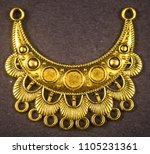 oxidized jewelry images   Shutterstock . vector #1105231361