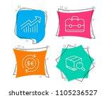 set of money currency ... | Shutterstock .eps vector #1105236527