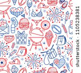 4 july. usa independence day... | Shutterstock .eps vector #1105238381