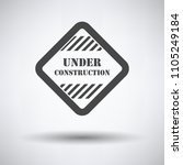 icon of under construction on... | Shutterstock .eps vector #1105249184
