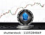 lisk  lsk  cryptocurrency  lisk ... | Shutterstock . vector #1105284869