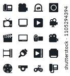 set of vector isolated black...   Shutterstock .eps vector #1105294394