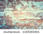 wood background with painted...   Shutterstock . vector #1105303301