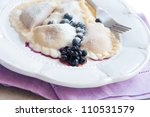 Pierogi With Blueberries ...