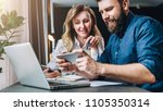 business meeting. teamwork.... | Shutterstock . vector #1105350314