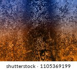 musical notes abstract lights... | Shutterstock . vector #1105369199
