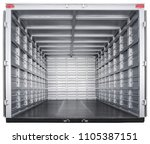truck trailer interior | Shutterstock . vector #1105387151
