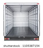 truck trailer interior   Shutterstock . vector #1105387154