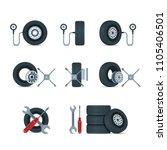 pressure diagnostic and...   Shutterstock .eps vector #1105406501