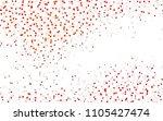 light orange vector blurry... | Shutterstock .eps vector #1105427474