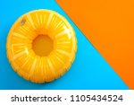summer vacation and safety... | Shutterstock . vector #1105434524