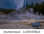 yellowstone  montana  usa may...