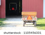 Small photo of Amish hay wagon