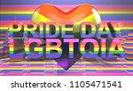 pride day lgbtqia gay pride... | Shutterstock . vector #1105471541