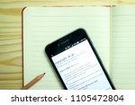 bandung  west java   indonesia  ...   Shutterstock . vector #1105472804