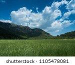 mountains near town kemer ...   Shutterstock . vector #1105478081