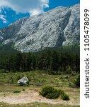 mountains near town kemer ...   Shutterstock . vector #1105478099