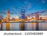 milwaukee  wisconsin  usa... | Shutterstock . vector #1105483889