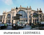 paris   sep 27   outside view... | Shutterstock . vector #1105548311