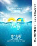 Summer Pool Party Poster...