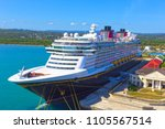 falmouth  jamaica   may 02 ... | Shutterstock . vector #1105567514