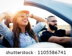freedom of the open road.young... | Shutterstock . vector #1105586741