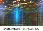 big data global network.... | Shutterstock . vector #1105600127