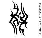 tattoos art ideas designs  ... | Shutterstock .eps vector #1105600934