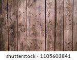 background of old wood boards ...   Shutterstock . vector #1105603841