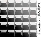 gray pattern with triangles and ... | Shutterstock .eps vector #1105610171
