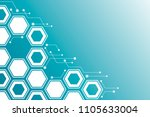 virtual business concept. the... | Shutterstock .eps vector #1105633004