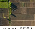 aerial photo of agro  summer... | Shutterstock . vector #1105637714