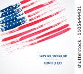 fourth of july. 4th of july... | Shutterstock .eps vector #1105644431
