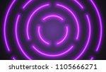 vector neon violet lighting... | Shutterstock .eps vector #1105666271