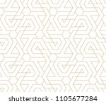 pattern with thin lines ... | Shutterstock .eps vector #1105677284