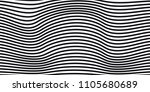 abstract black and white vector ... | Shutterstock .eps vector #1105680689