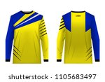 templates jersey for mountain...   Shutterstock .eps vector #1105683497