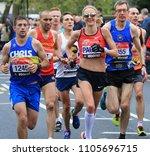 london  uk  april 26th 2015  ... | Shutterstock . vector #1105696715