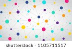 network color communication... | Shutterstock .eps vector #1105711517