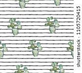 vector illustration. cactus.... | Shutterstock .eps vector #1105720415