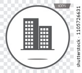 buildings icons vector isolated ... | Shutterstock .eps vector #1105726631