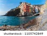 riomaggiore 1 of 5 fishing...   Shutterstock . vector #1105742849