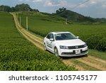 mocchau  vietnam   may 16  2018 ...   Shutterstock . vector #1105745177